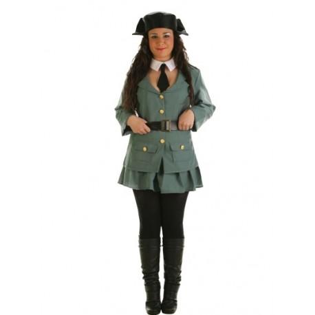 Disfraz de Guardia Civil Chica