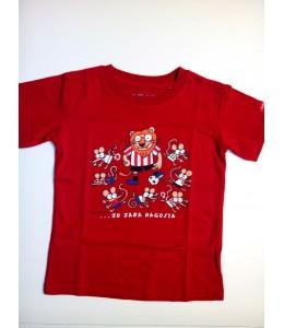Camiseta Kukuxumuxu Athletic Infantil