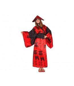 Disfraz de China Roja
