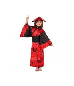 Disfraz de China Rojo Infantil