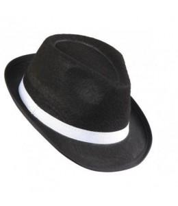 Sombrero Gangster Negro