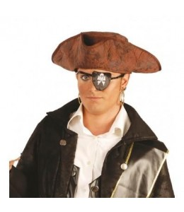 Sombrero Pirata de Tela