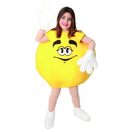 Disfraz de Dulce Amarillo Infantil