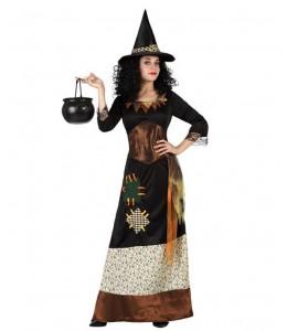 Disfraz de Bruja con Parches