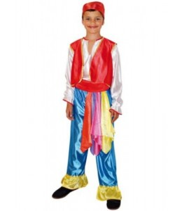 Disfraz de Zingaro infantil
