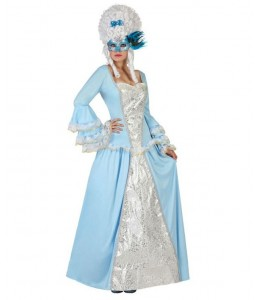 Disfraz de Cortesana Azul