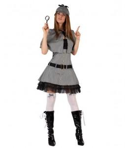 Disfraz de Detective Mujer