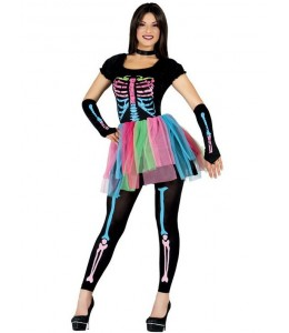 Disfraz de Esqueleto Colores