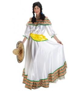 Disfraz de Mejicana Lujo