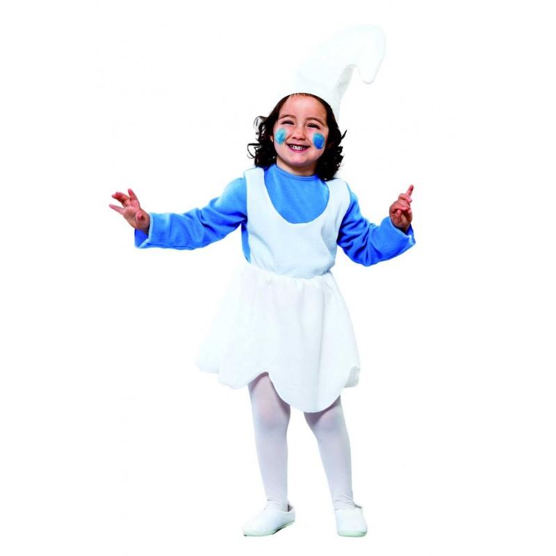 disfraz de pitufina infantil disfraz de pitufina infantil talla de 2 a