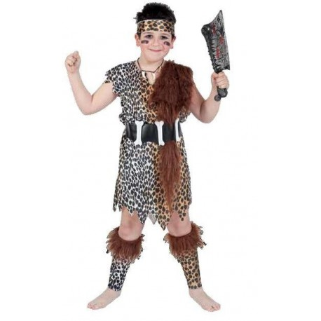 Disfraz de Cavernicola Chico Infantil
