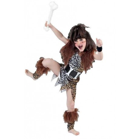 Disfraz de Cavernicola chica