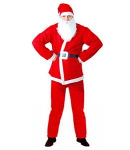 Disfraz de Papa Noel Economico