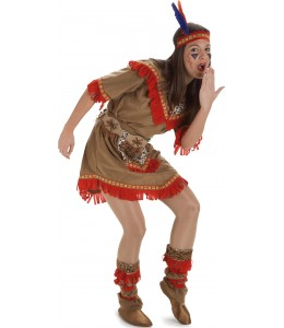 Disfraz de India Apache