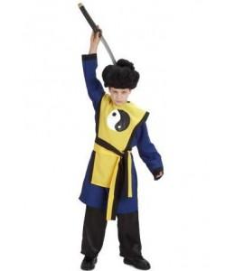 Disfraz de Samurai Ying Yang Infantil