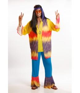 Disfraz de Hippie Morado Chico