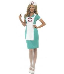 Disfraz de Enfermera Verde