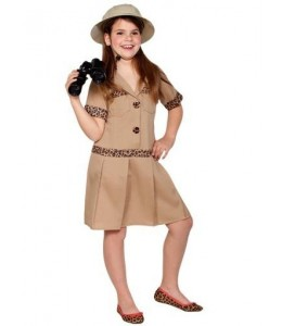 Disfraz de Exploradora Infantil