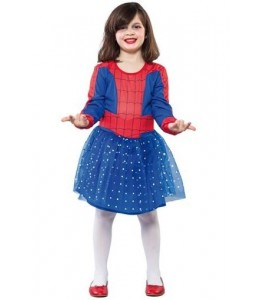 Disfraz de Spider Heroe Niña