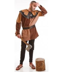 Disfraz de Leñador Medieval