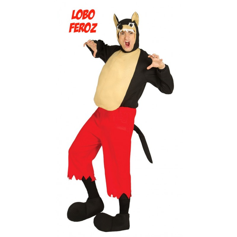 Comprar disfraz de lobo feroz por solo tienda de for Disfraz de lobo feroz