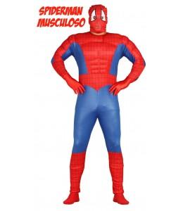 Disfraz de Spider Heroe Musculoso