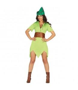 Disfraz de Peter Pan Chica
