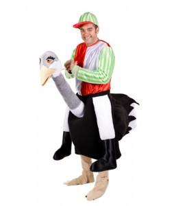 Disfraz de Jockey de Avestruz
