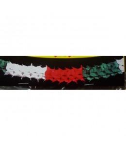Guirnalda Roja, Blanca y Verde