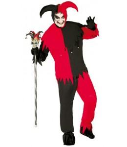 Disfraz de Joker Rojo y Negro