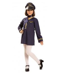 Disfraz de Azafata Infantil