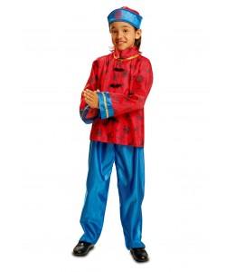 Disfraz de Chino Azul Infantil