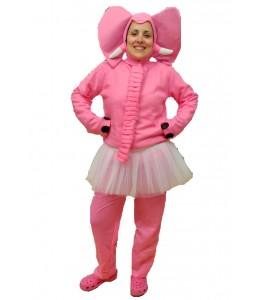 Disfraz de Elefantita rosa