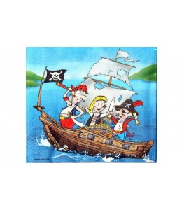Servilletas de piratas