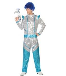 Disfraz de Galactico Azul