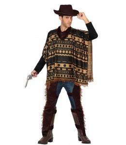 Disfraz de Vaquero con Poncho