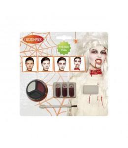 Maquillaje kit de Zombie