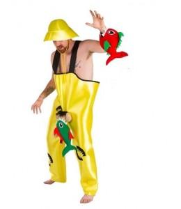 Disfraz de Pescador con Pirañas