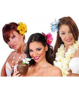 Flores Hawaianas 2unid