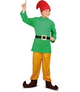 Disfraz de Enanito Verde