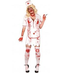 Disfraz de Enfermera Zombien Hombre