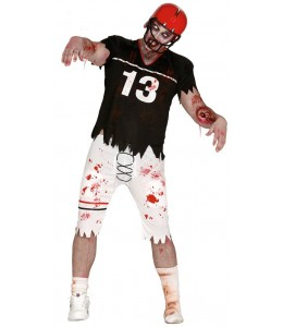 Disfraz de Jugador de Rugby Zombie
