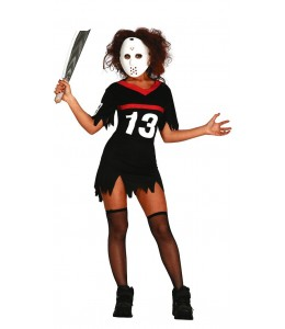 Disfraz de Jason Hockey Mujer