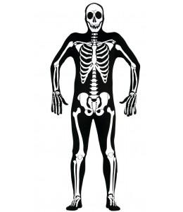 Disfraz de Esqueleto Lycra