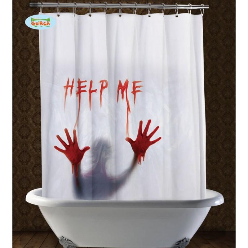 Comprar cortina de ducha ensangrentada por solo - Cortina para ducha ...