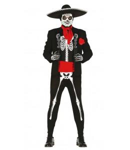 Disfraz de Esqueleto Mejicano