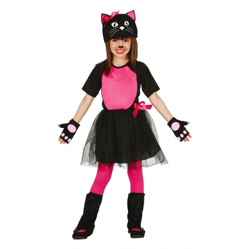 Comprar disfraz de gatita infantil por solo - Disfraces de gatitas para nina ...