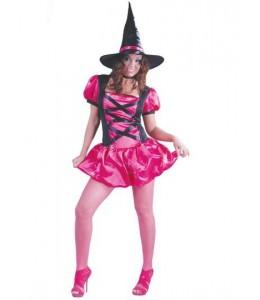 Disfraz de Bruja Pink
