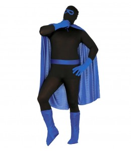 Conjunto Super Heroe Azul