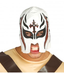 Mascara Lucha Blanca